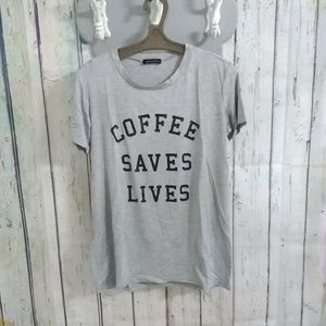 Coffee Saves Lives Graphic Top